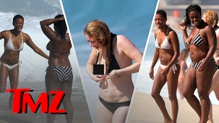 """Hot Convicts: The Ladies of """"Orange Is The New Black""""  in Bikinis!"""
