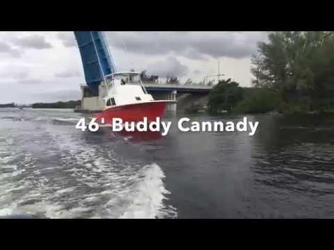 1992 46' Buddy Cannady Sportfish Boat For Sale In Hollywood, Florida