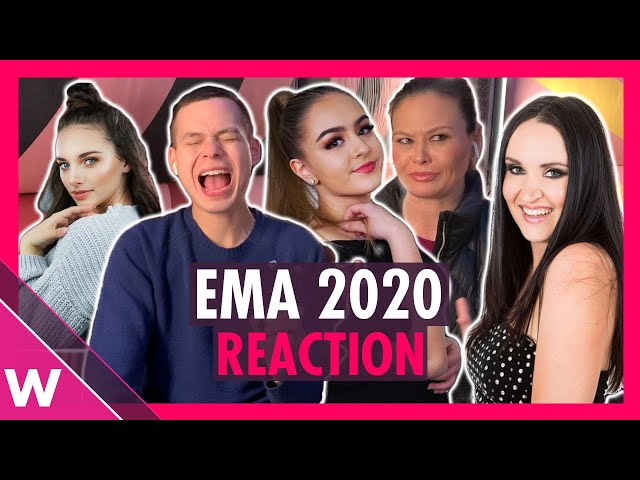 Eurovision Slovenia: EMA 2020 - 12 song snippets reaction video