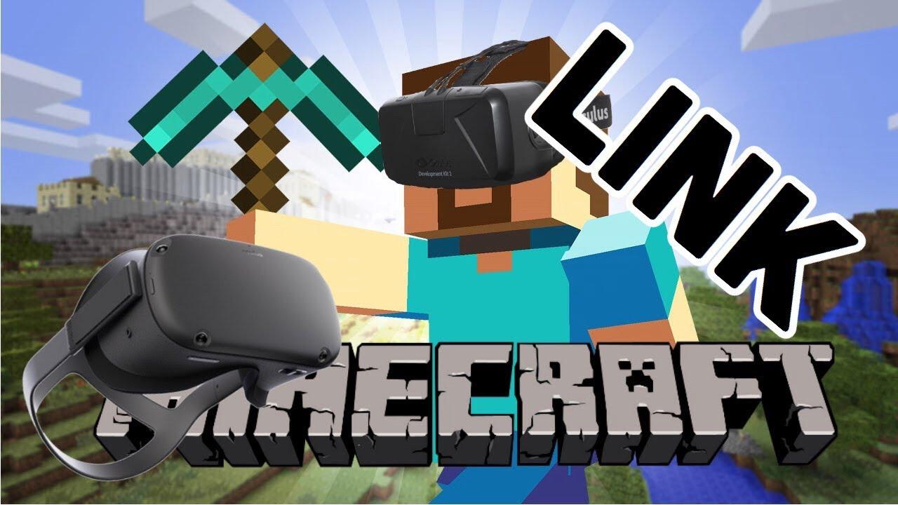 Minecraft VR Oculus Quest w/ link - YouTube