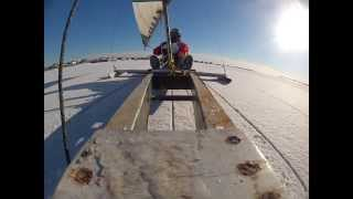 GoPro Ice Boating On Jamaica Bay, NY