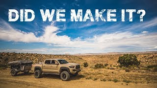 Family Camping with Overlanding Trailer Part 8: Grand Staircase-Escalante National Monument