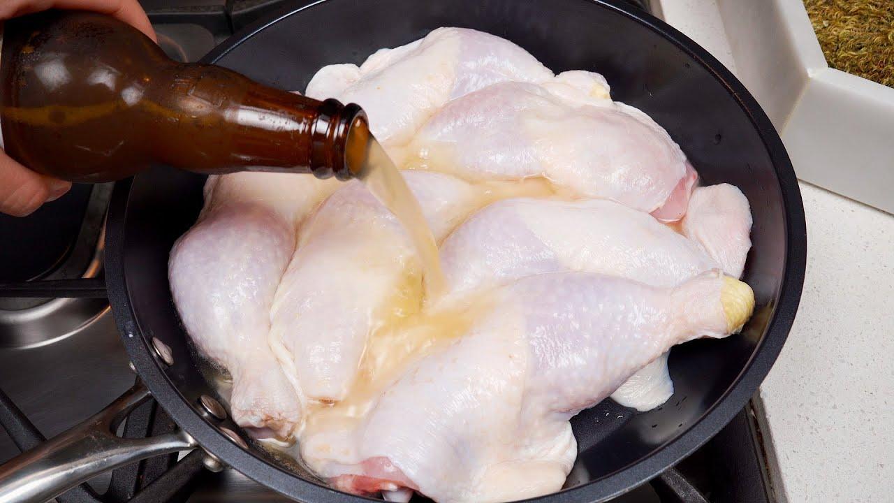 Kochen Sie das Huhn auf diese Weise und das Ergebnis ist erstaunlich!