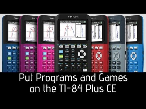 Put Games on Your TI-84 Plus CE