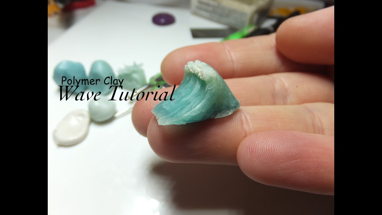 Polymer Clay Wave Tutorial