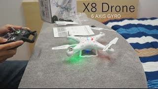 X8 RC Quadcopter Drone for $36