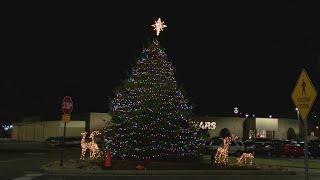 Christmas tree lighting at Mall of Johnson City