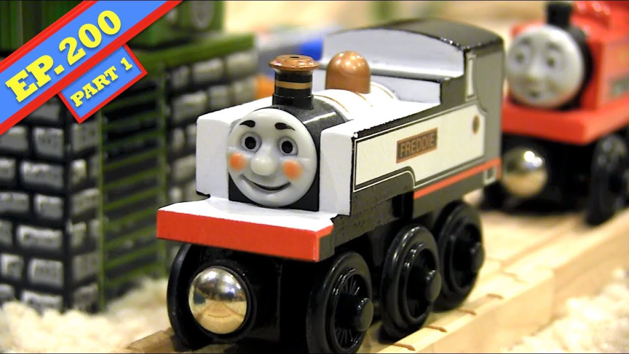 Freddie At The Ready Part 1 Thomas Friends Wooden Railway Adventures Episode 200