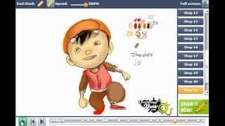 How to draw BoBoi from Boboi Boy