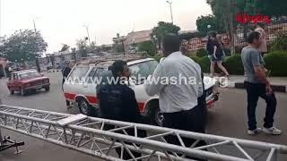 وشوشة |جميلة أبوحيرد أثناء استقلالها تاكسي في أسوان|Washwasha