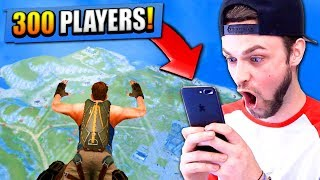 300 PLAYER BATTLE ROYALE ON MY PHONE