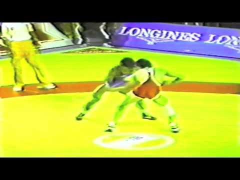 1989 Senior World Championships: 52 kg Yuji Ishijima (JPN) vs. Metin Topaktas (TUR)