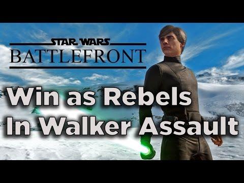 How to Win as Rebels in Walker Assault - Star Wars Battlefront Beta