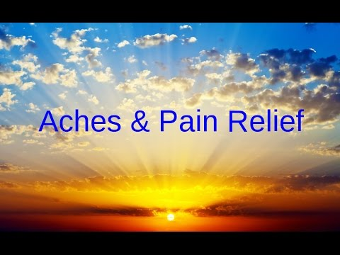Soothing Chronic aches, pains relief:  music with  isochronic tones HEALING