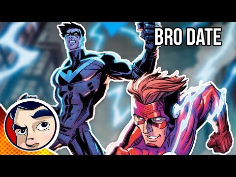 """Nightwing & Flash """"Faster than the Flash"""" - Rebirth Complete Story"""