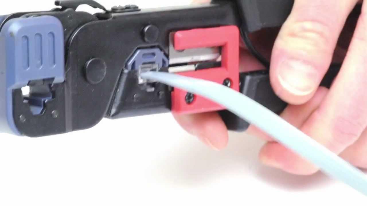 Rj12 6p6c Modular Plug 55210 Pk Youtube Wiring Diagram