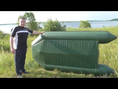 Самодельный  киль на лодку пвх. Тест на воде. Выход на глиссер...