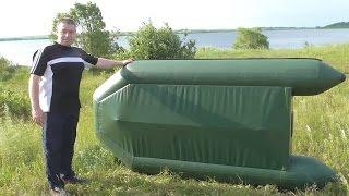 как сделать киль на лодку пвх