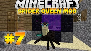 Minecraft Spider Queen Mod Let
