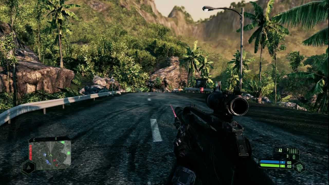 Crysis Remastered Gameplay [HD] - YouTube
