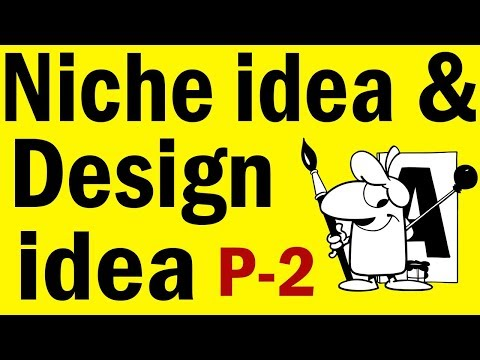 How to Sale T-shirt Online Niche Idea and Design idea | T-shirt Design Tutorial