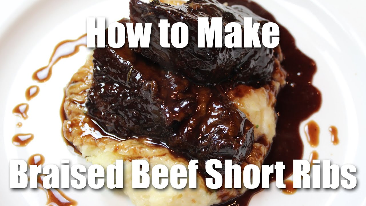 Braised beef short rib recipe restaurant style youtube forumfinder Image collections