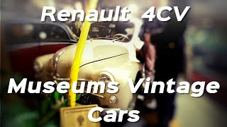 Renault 4CV 1947–1961 museums vintage cars
