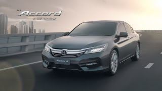 New Honda Accord 2016 – Change Your World TVC (45 sec.)