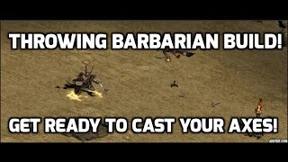 Diablo 2: Throw Barbarian Guide ! Is this even going to work?