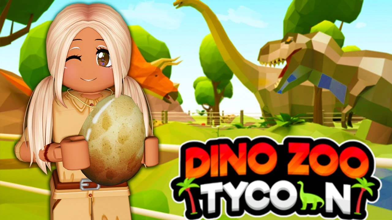 Download 🦕 BUILDING MY *OWN* DINO ZOO! 🌴   Roblox Dinosaur Zoo Tycoon