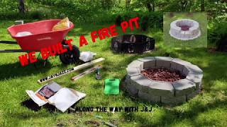 How to Build a Fire Pit 2020 - Building a Fire Pit at the Vermont House - 🔥