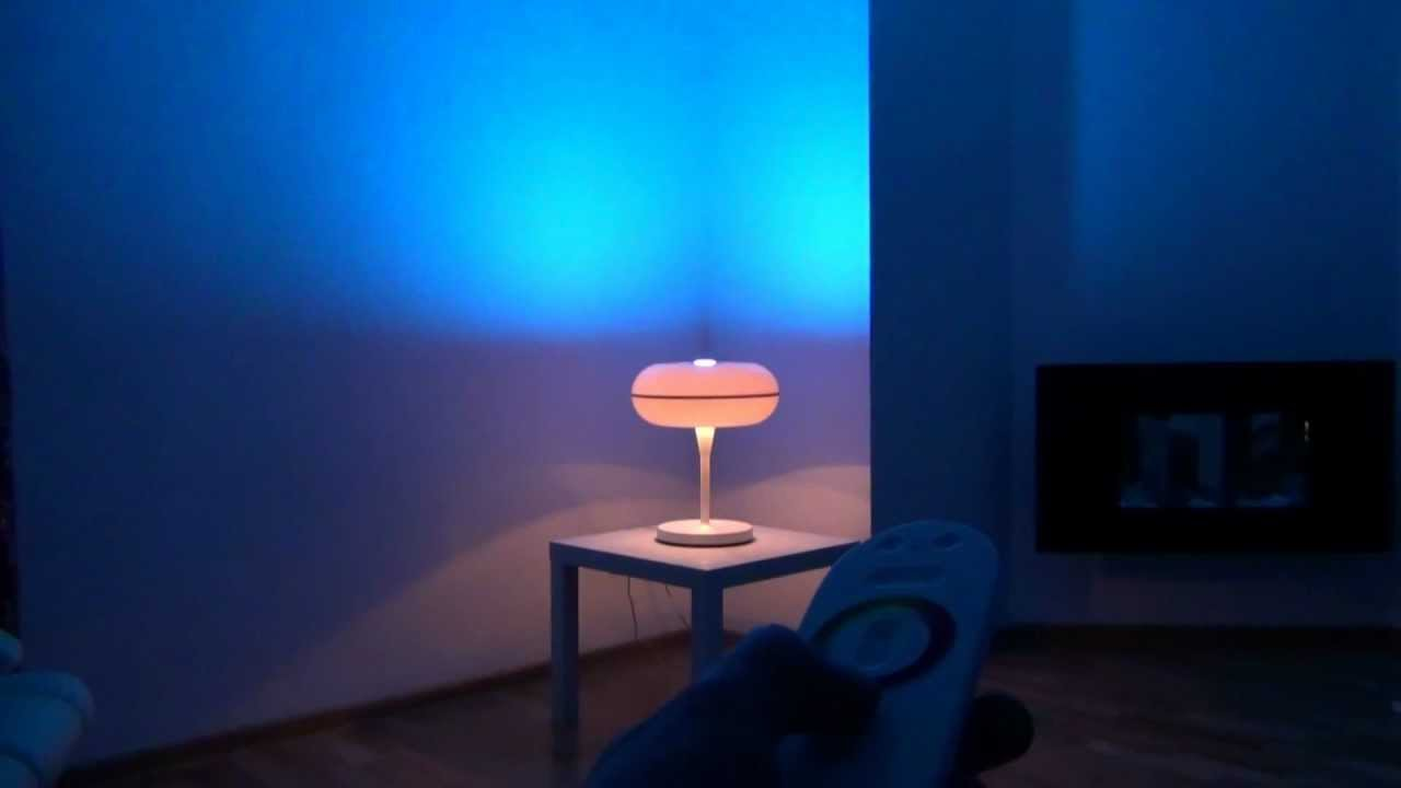 philips living colors new model philips living ambiance led lampe youtube. Black Bedroom Furniture Sets. Home Design Ideas
