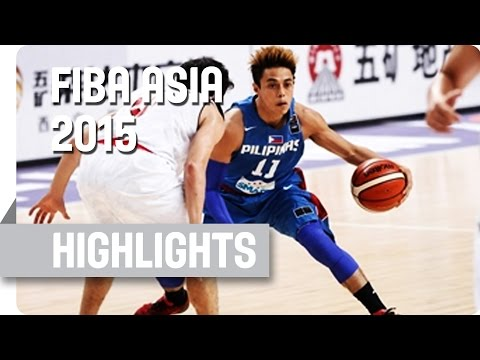 Japan v Philippines - Group E - Game Highlights - 2015 FIBA Asia Championship