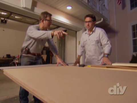 DIY Secret Bookcase Door- DIY Network