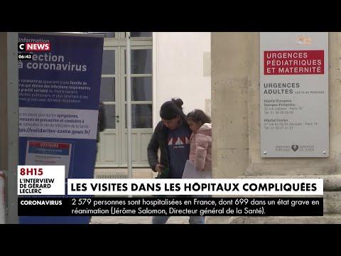 Coronavirus: les hôpitaux encadrent les visites