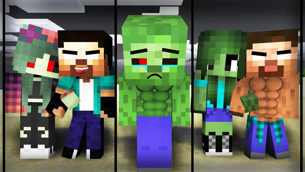 Download The Young Hero Zombie All Episode : VT Minecraft Animation