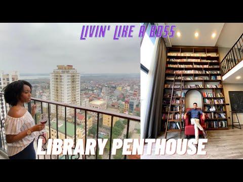 A LUXURY LIBRARY APARTMENT IN HANOI, VIETNAM