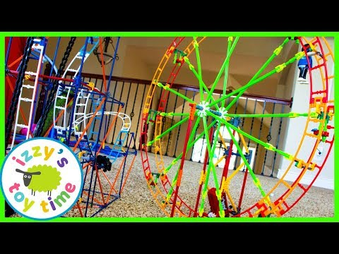 Toys and Cars for Kids! K'NEX FERRIS WHEEL! Fun Toys for Kids!