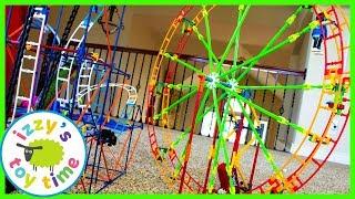 Toys and Cars for Kids! K'NEX FERRIS WHEEL! Fun Toys for Kids!