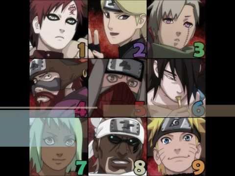 Naruto shippuden all nine jinchuuriki