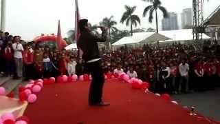 *Fancam* Viết Tình Ca - Tạ Quang Thắng (Lễ Hội Xuân Hồng 3/3/2013)