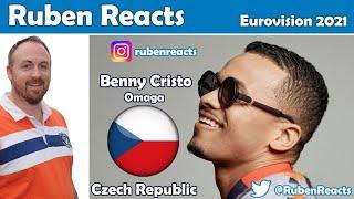 Benny Cristo - omaga - Czech Republic 🇨🇿 - Official Music Video - Eurovision 2021 - REACTION