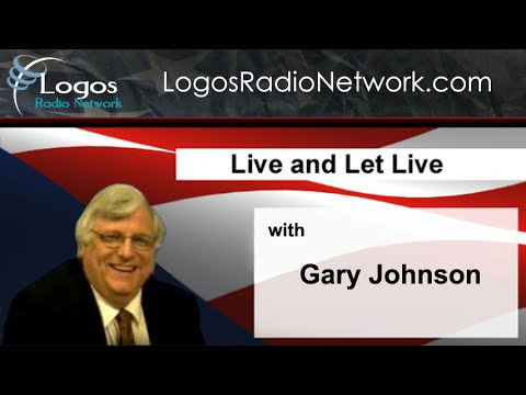 Live and Let Live with Gary Johnson (2010-01-17)