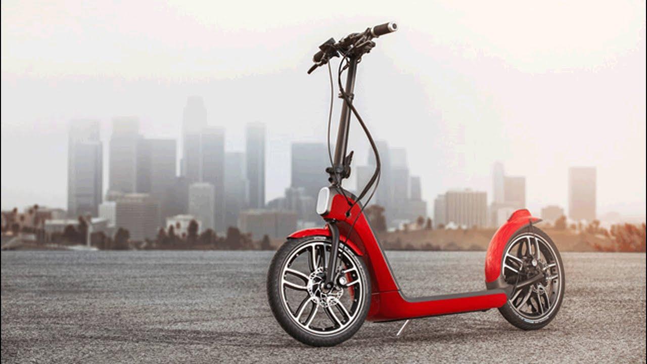 Mini S Citysurfer Scooter Concept Anes A Car Less Future For Urban Areas