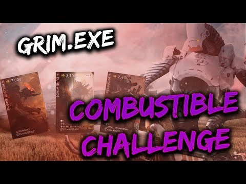 Paragon Grim.EXE Gameplay - THE COMBUSTIBLE CHALLENGE