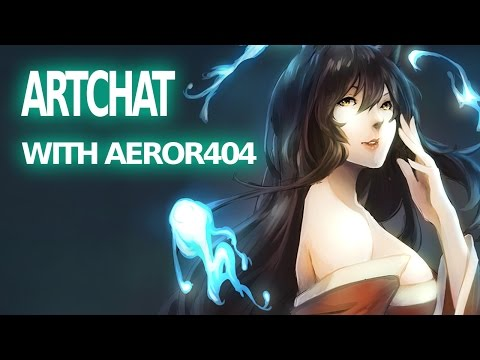 Artchat - Thoughts about being an anime artist (Aeror404)