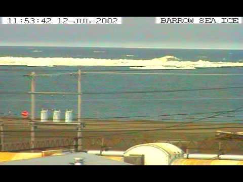 2002 Sea Ice Webcam Time-lapse in Barrow, Alaska
