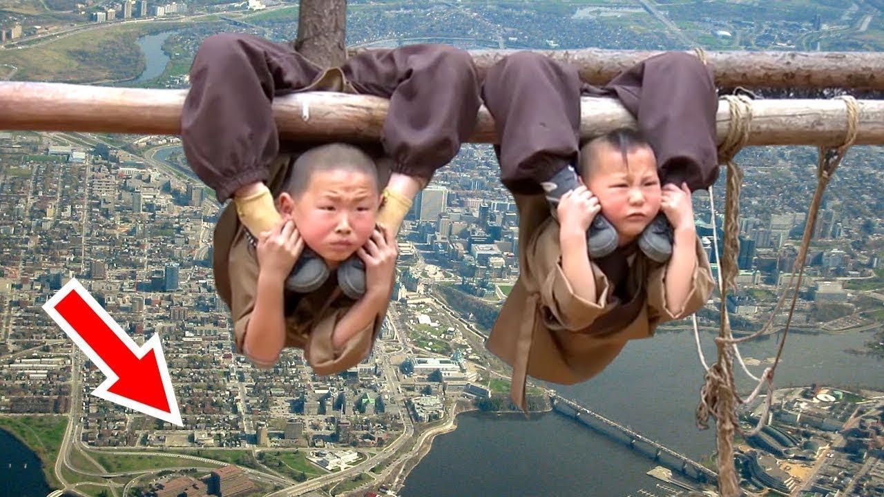 रोंगटें खड़े हो जायेंगे इन बच्चों की कुंगफू ट्रैनिग देखकर | Toughest Kung fu Training of China Kids