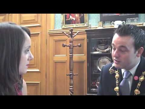 Learning Pool interviews Mayor Colum Eastwood, Derry City Council