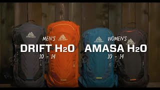 Gregory Drift & Amasa: Hydration Mountain Biking